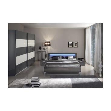Chambre coucher compl te sanaloi achat vente chambre for Chambre a coucher complete 1 personne