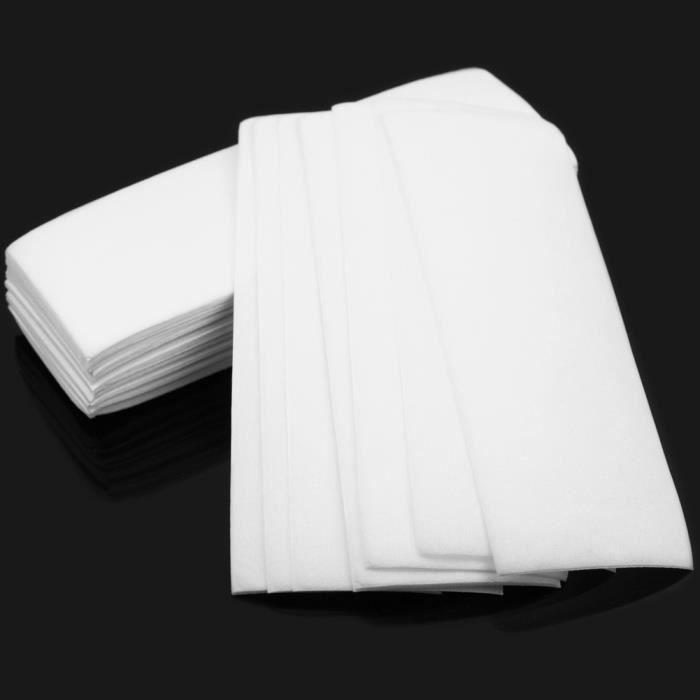 100 x pratique papiers d pilatoires epilateur epilation bande cire professionnel achat vente. Black Bedroom Furniture Sets. Home Design Ideas