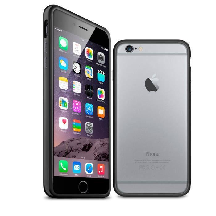 Coque Bumper iPhone 6 HQ Noire - Achat coque - bumper pas cher, avis ...