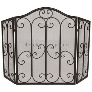 grille pare feu achat vente grille pare feu pas cher cdiscount. Black Bedroom Furniture Sets. Home Design Ideas