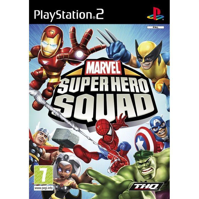 JEU PS2 MARVEL SUPER HERO SQUAD / JEU CONSOLE PS2