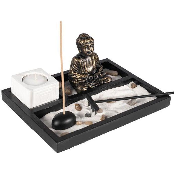 Jardin zen japonais ambiance bouddha m ditation achat for Achat jardin zen