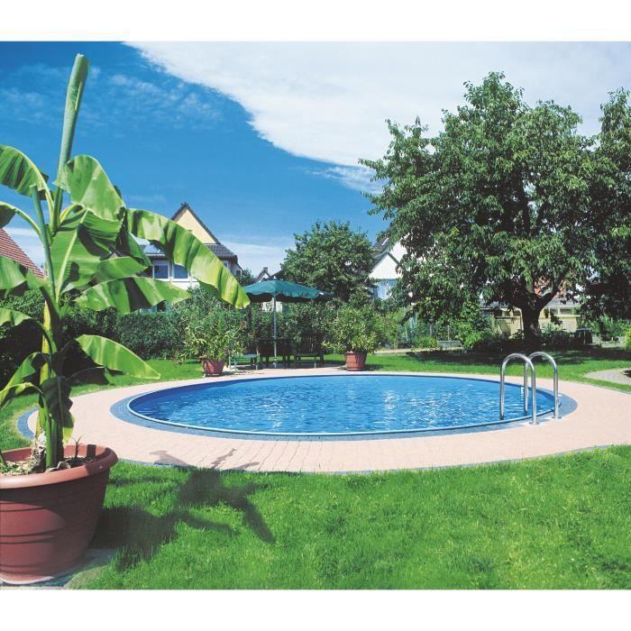 piscine enterr e mod le ronde filtre sable et