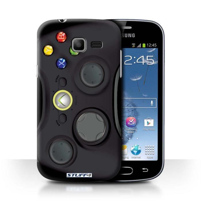 Coque de stuff4 coque pour samsung galaxy trend lite s7390 noir xbox 360 design console - Samsung trend lite pas cher ...