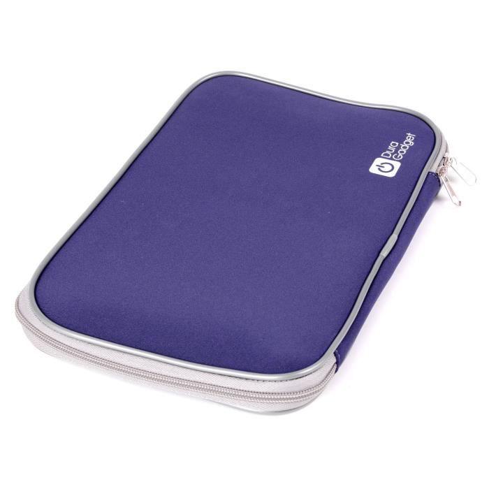 housse bleue pour tablette clementoni clempad 4 4 prix pas cher cdiscount