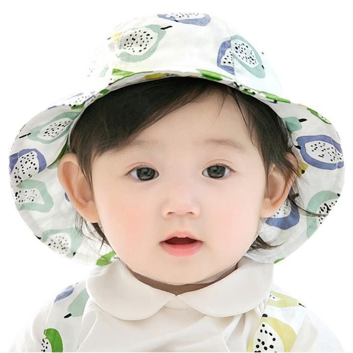 eozy chapeau bob b b fille chapeau de soleil imprim mignon achat vente chapeau bob. Black Bedroom Furniture Sets. Home Design Ideas