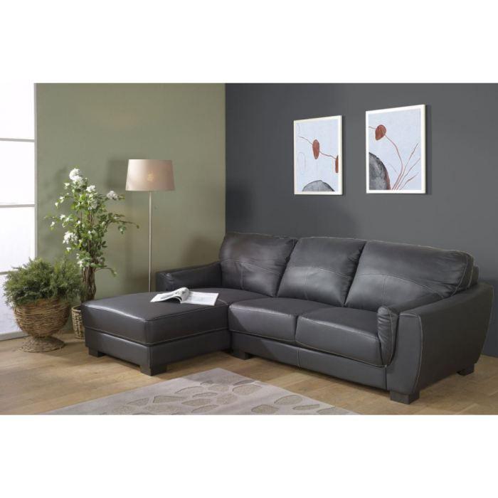 canape d angle kreativ angle gauche achat vente canap 233 sofa divan cuir bois pvc