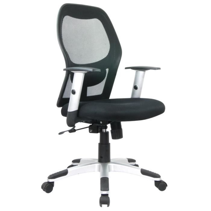 Fauteuil de bureau si ge janus achat vente chaise de bureau noir cdiscount - Cdiscount fauteuil de bureau ...
