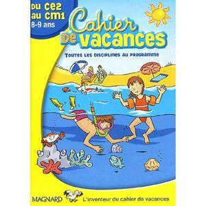 cahier de vacances 9 ans