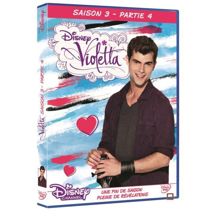dvd violetta saison 3 partie 4 en dvd s rie pas cher cdiscount. Black Bedroom Furniture Sets. Home Design Ideas