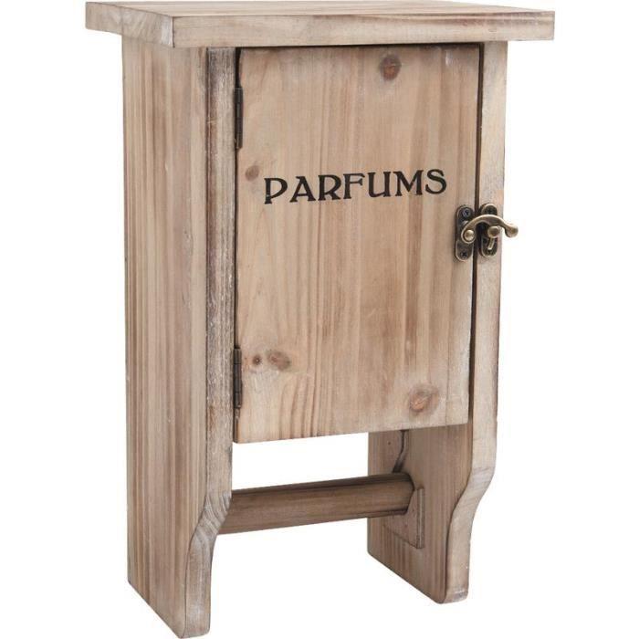 armoire en bois d rouleur wc achat vente serviteur. Black Bedroom Furniture Sets. Home Design Ideas