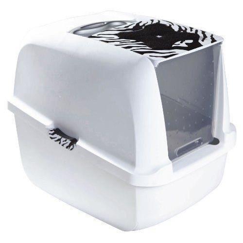 catit maison de toilette pour chat 57 x 46 achat vente maison de toilette catit. Black Bedroom Furniture Sets. Home Design Ideas