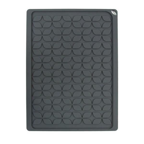 tapis vaisselle en silicone gris achat vente tapis d 39 vier cdiscount. Black Bedroom Furniture Sets. Home Design Ideas