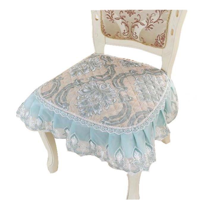 Coussins de chaise l gant style classique en dentelle for Casa coussin de chaise