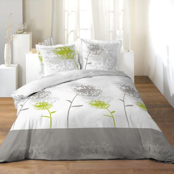 parure de couette 100 coton 240x260 songe achat vente parure de couette cdiscount. Black Bedroom Furniture Sets. Home Design Ideas
