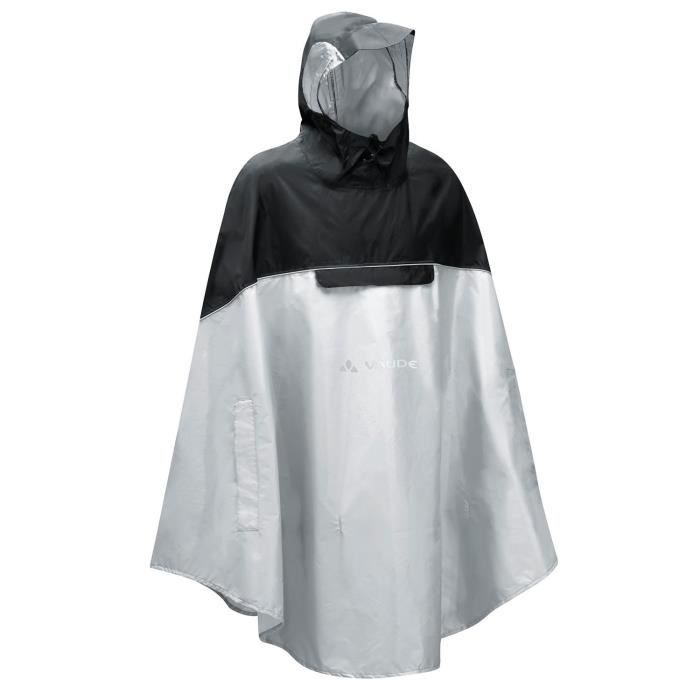 cape de pluie vaude covero ponch gris gris achat vente coupe vent poncho cape de pluie. Black Bedroom Furniture Sets. Home Design Ideas