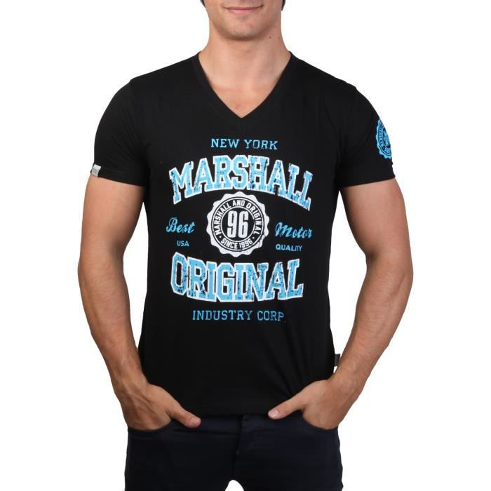 t shirt marshall original homme achat vente t shirt. Black Bedroom Furniture Sets. Home Design Ideas