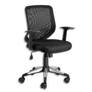 Fauteuils de bureau eliot dossier r sille noir achat vente chaise de bure - Cdiscount fauteuil de bureau ...