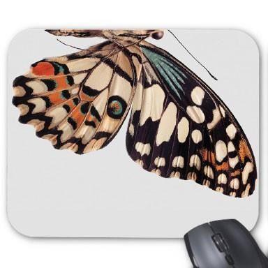 tapis de souris personnalis papillon ref 2386 prix pas cher cdiscount. Black Bedroom Furniture Sets. Home Design Ideas