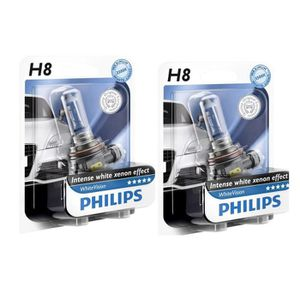 ampoules h8 philips white vision achat vente phares. Black Bedroom Furniture Sets. Home Design Ideas