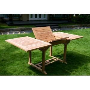 Table de jardin largeur 80 cm achat vente table de - Taille table 8 personnes ...