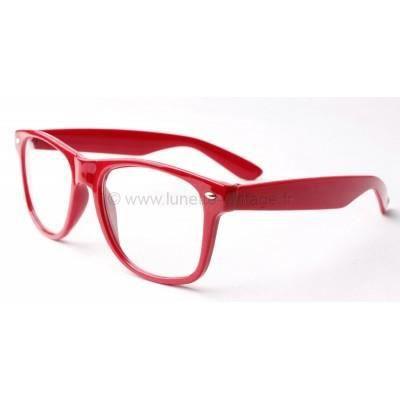 fausses lunettes de vue rouge rouge achat vente lunettes de vue fausses lunettes de vue. Black Bedroom Furniture Sets. Home Design Ideas