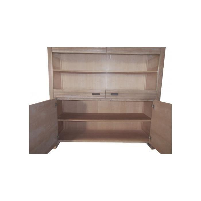 vaisselier fr ne massif 4 portes achat vente vitrine argentier vaisselier fr ne massif 4 p. Black Bedroom Furniture Sets. Home Design Ideas