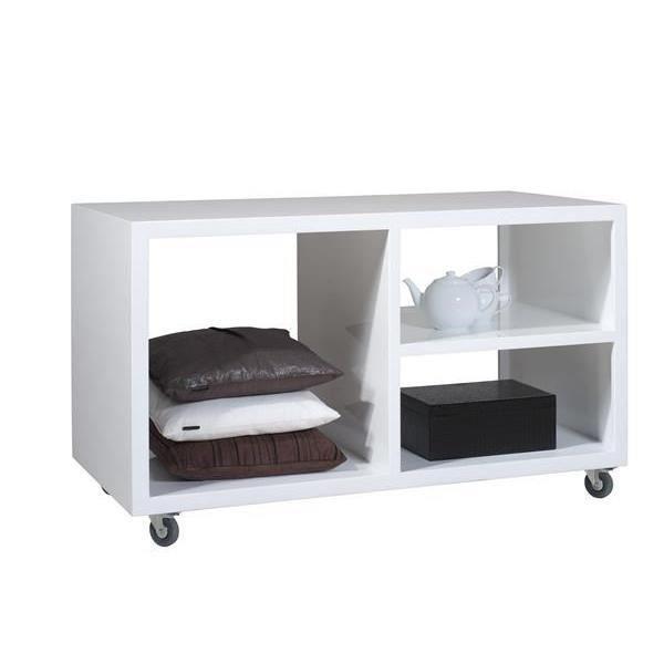 armoire avec roues 130 x 65 cm cataluna achat vente. Black Bedroom Furniture Sets. Home Design Ideas