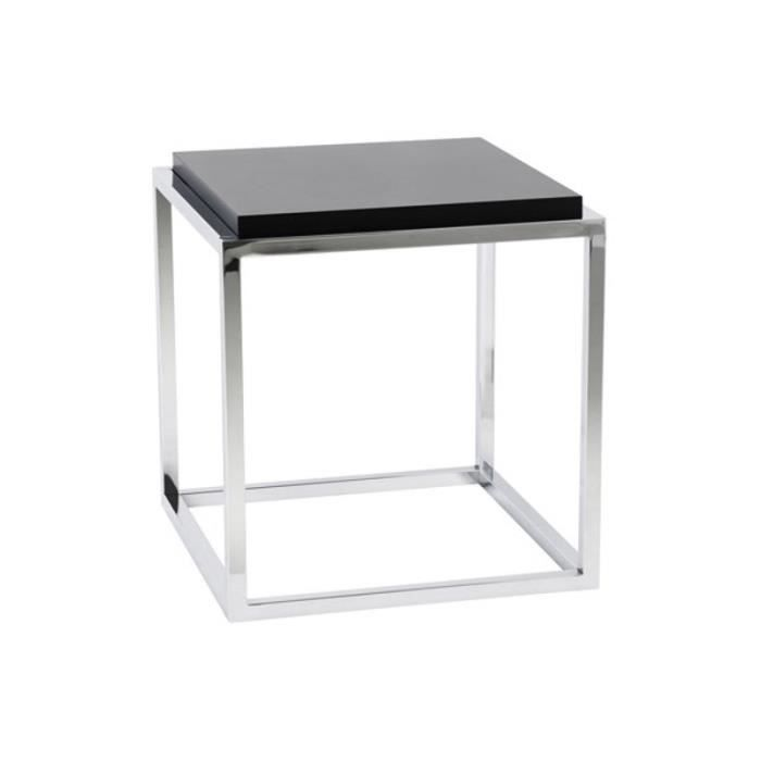 cube de rangement 39 multy 39 noir empilable achat vente table basse cube de rangement 39 multy 39 n. Black Bedroom Furniture Sets. Home Design Ideas