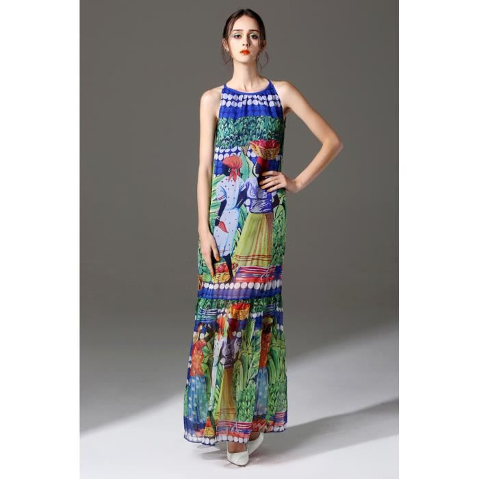 robe manche longue colore - Robe Longue Colore
