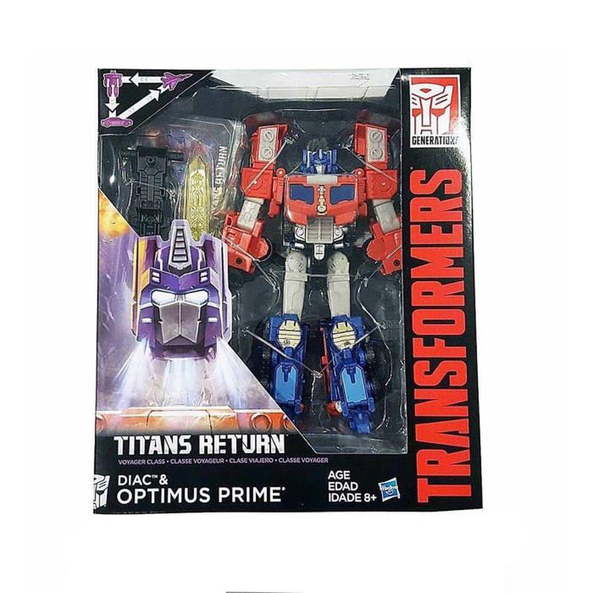transformers g n rations titans retournent diac optimus prime classe v jouet achat vente. Black Bedroom Furniture Sets. Home Design Ideas