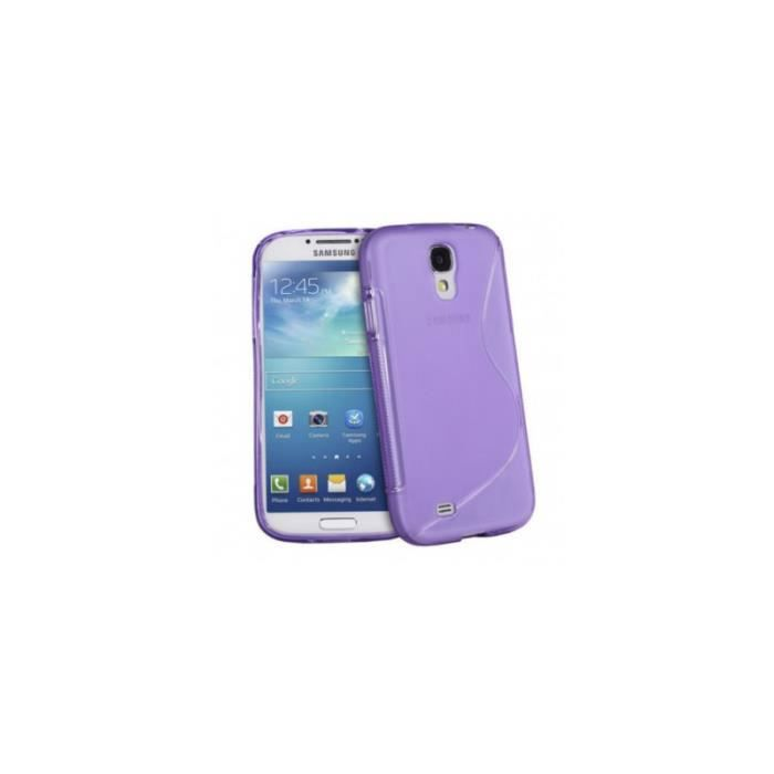 coque s line silicone samsung galaxy s5 violet achat. Black Bedroom Furniture Sets. Home Design Ideas