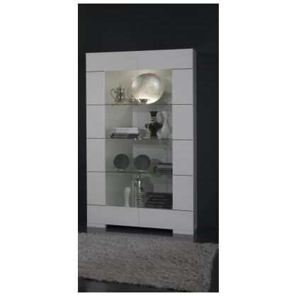 vitrine verre design floriane achat vente vitrine argentier vitrine verre design floriane. Black Bedroom Furniture Sets. Home Design Ideas