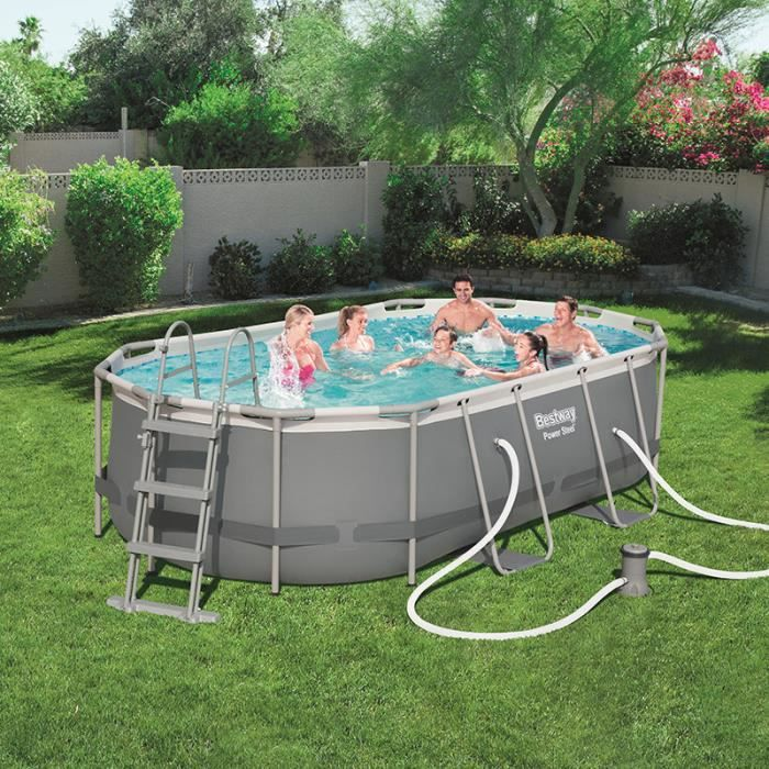 Piscine tubulaire ovale bestway achat for Piscine tubulaire ovale intex