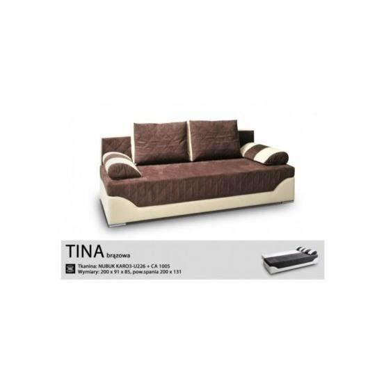 Canap convertible bradley chocolat ivoire achat vente canap sofa di - Canape convertible chocolat ...