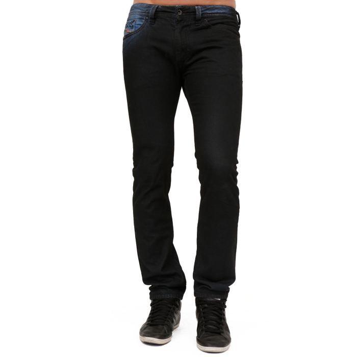 jean diesel homme thanaz 8b1 bic l34 noir achat vente jeans cdiscount. Black Bedroom Furniture Sets. Home Design Ideas