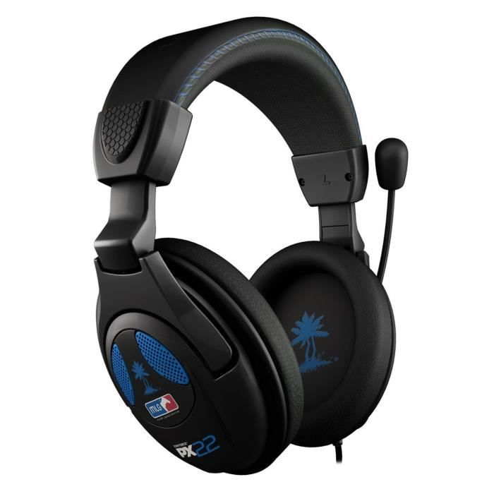 turtle beach micro casque gamer px22 filaire usb ps4. Black Bedroom Furniture Sets. Home Design Ideas