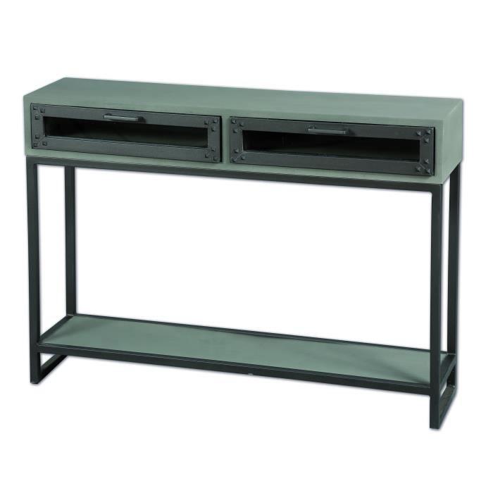 console b ton usine meuble house achat vente console console b ton usine meubl. Black Bedroom Furniture Sets. Home Design Ideas
