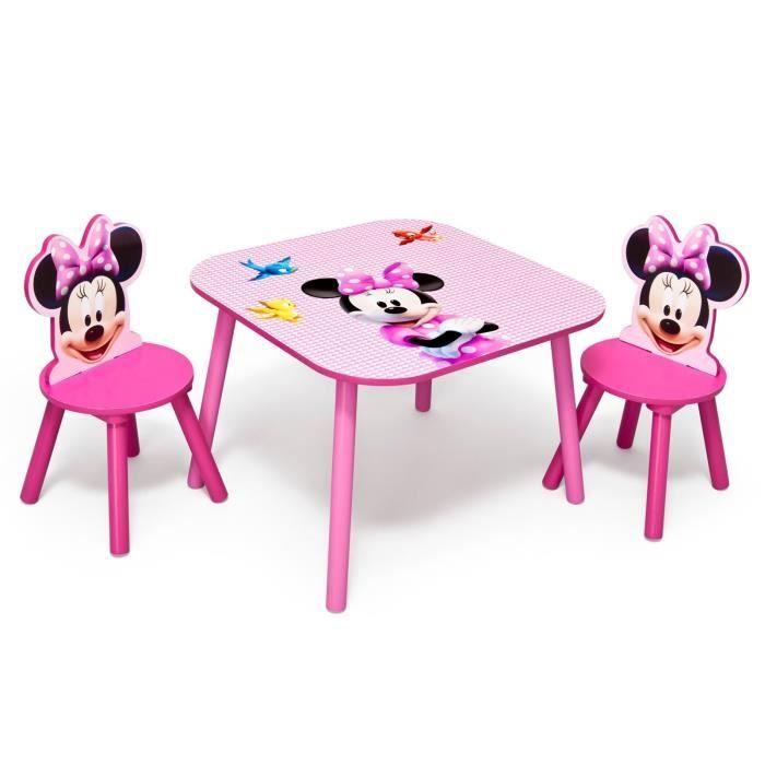 Minnie table enfant 2 chaises achat vente table for Table et 2 chaises