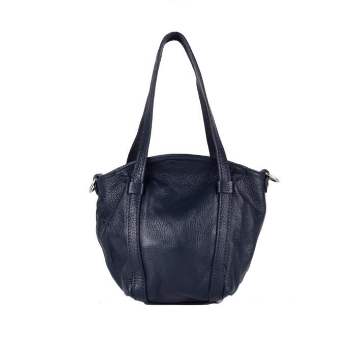 Petit sac à main Cuir Bleu KV0092b