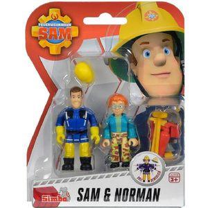 Personnage pompier achat vente jeux et jouets pas chers - Sam le pompier personnages ...