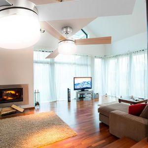 telecommande pour ventilateur de plafond achat vente. Black Bedroom Furniture Sets. Home Design Ideas