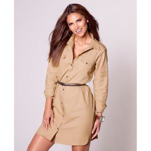 ROBE Robe chemisier manches longues...