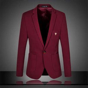 blazer rouge homme. Black Bedroom Furniture Sets. Home Design Ideas