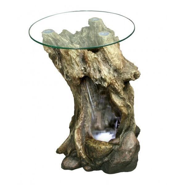 Fontaine table en bois h67cm l40cm achat vente - Fontaine de table ...