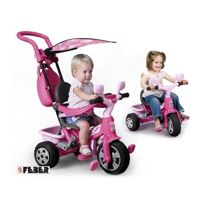 feber tricycle baby plus music girl achat vente tricycle cdiscount. Black Bedroom Furniture Sets. Home Design Ideas