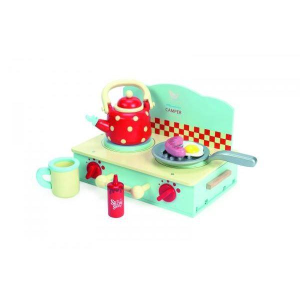 Le toy van tv297 la cuisini re de camping achat for Toy van cuisine