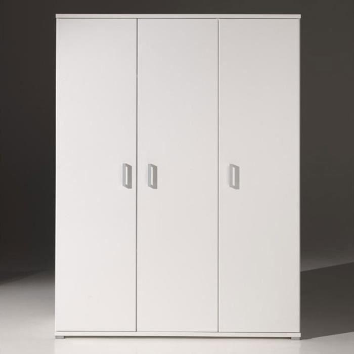 Paris prix armoire 3 portes milan blanc achat - Comparateur de prix congelateur armoire ...