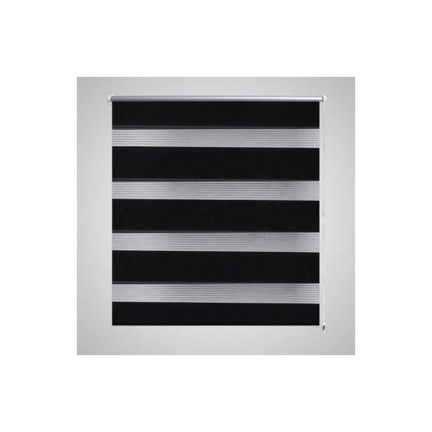 superbe store enrouleur tamisant 90 x 150 cm noir achat vente store de fen tre cdiscount. Black Bedroom Furniture Sets. Home Design Ideas