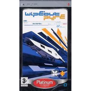 JEU PSP WIPEOUT PURE / PSP Platinum
